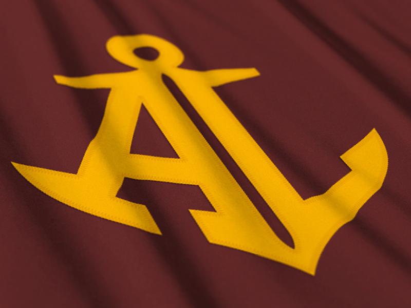 Avon Lake logo sports anchor ohio football maroon gold hockey