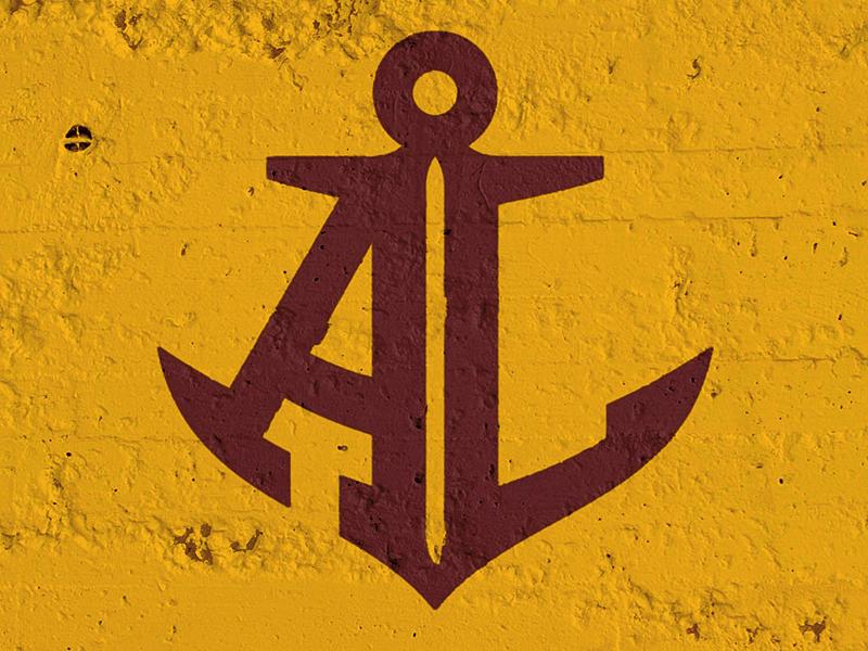Avon Lake logo sports anchor ohio football hockey maroon gold