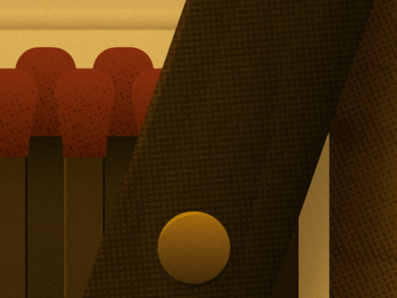 2015 Bigger Picture Show roald dahl fantastic mr. fox wes anderson halftone texture typography type warmth illustration