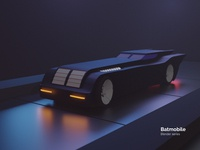 Batmobile - Blender series