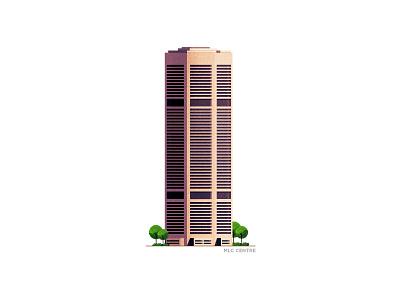 MLC Centre - Sydney building australia sydney building series series challenge design adobe photoshop stipple illustrator illustration
