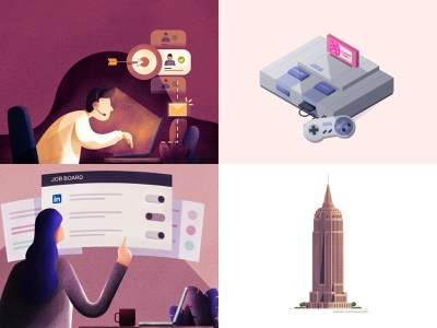 2018 - Been one hell of a ride top4 best illustration top shots year in review 2018