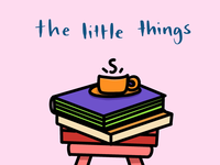 The Little Things: Reading A Book