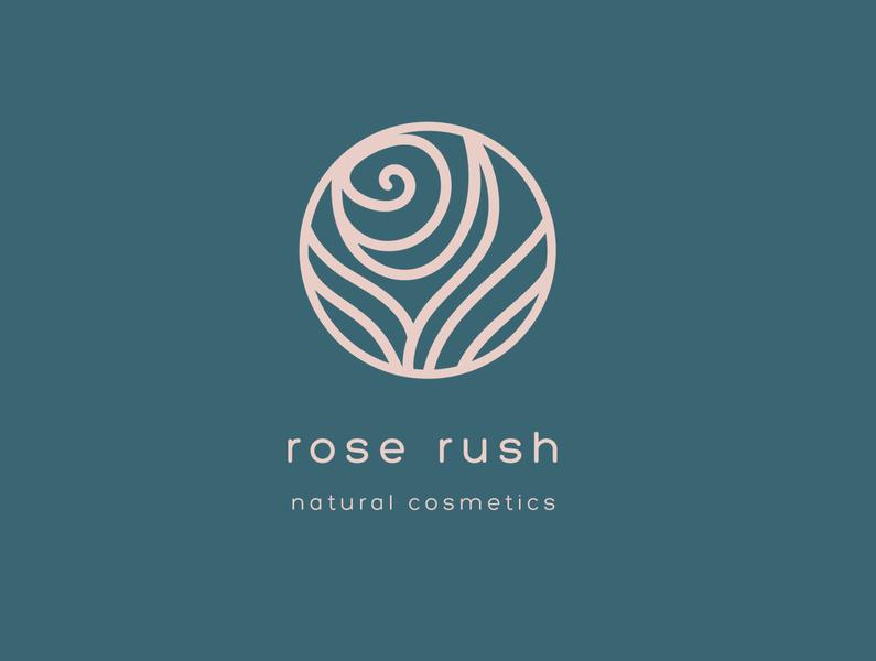 Rose Rush LOGO logotype illustrator icon illustration minimal graphicdesign logo logo design design branding