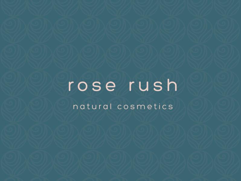 Rose Rush packaging logotype graphicdesign logo logo design branding design brand identity brand design design branding