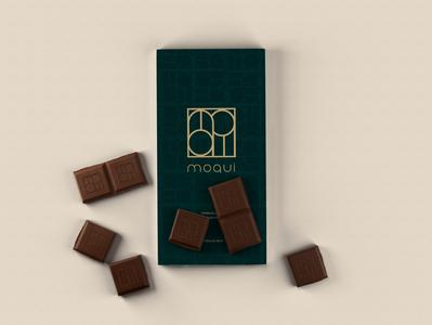 Moqui Chocolate illustration minimal graphicdesign logo logo design brand branding design brand identity brand design branding design packaging design package design packaging