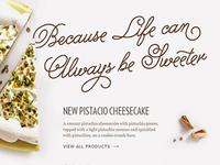 Dessert Distributor Site