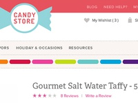 Candy Website