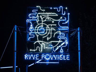 Warsaw Marmaid Neon