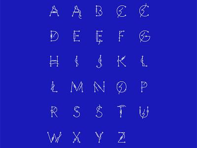 RWE_display.ttf letters vectors vector typography rwe letters fonts font electricity design custom bartosz włodarczyk