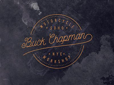 Bucks Wrokshop piston badge texture vintage logo