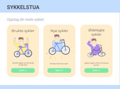 Sykkelbua (Daily UI #012 - E-commerce)