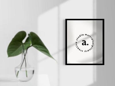a. logotype typography motion modern logotype logo humanist futuristic fluid design branding animation amaticity ama