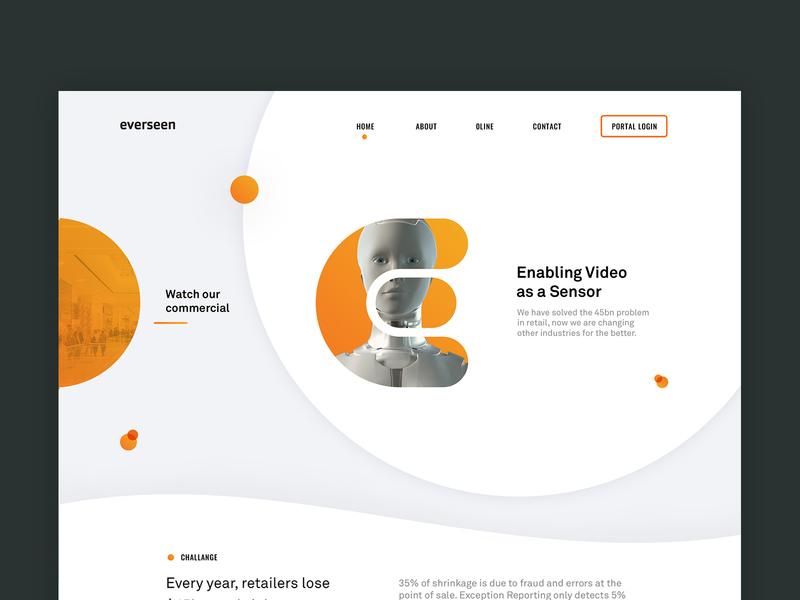eve. website brand identity robot retail future technology clean layout development ui ux minimal brand branding website design