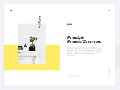 Ama — Grid typography white animation clean grid layout minimal website