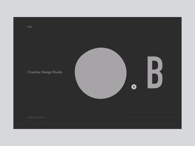 Blob Studio Website — Intro