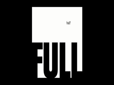Experiment #2 - Half Full