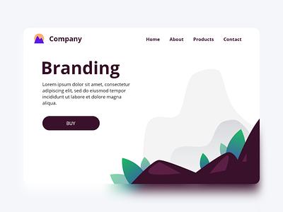Website Concept flat minimal uiux ux web ui design ui interface design app