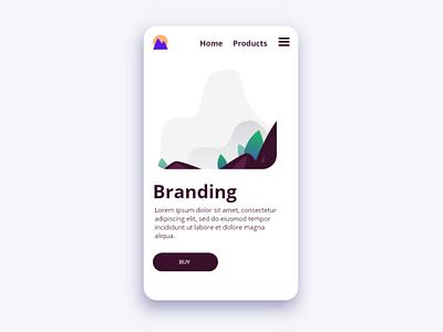 Website Concept. design website web ux uiux ui ui design minimal interface flat
