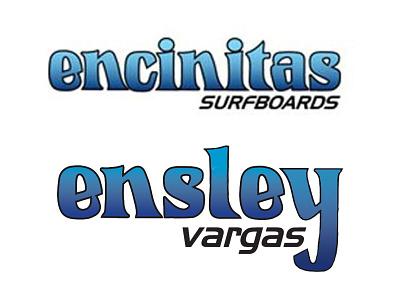 Ensley Poster logo typography branding design
