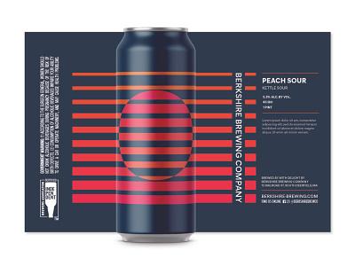 Sour Series Beer Design illustrator branding typography vector illustration design craft beer geometric geometry beer branding beer can beer label fruit beer beer