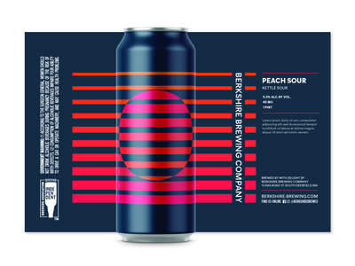 Sour Series Beer Design illustrator branding typography vector illustration design craft beer geometric geometry beer branding beer can beer label fruit beer beer