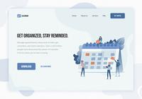 Daily UI: #003 Landing Page