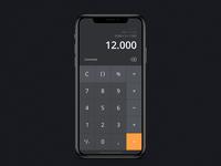 Daily UI: #004 Calculator