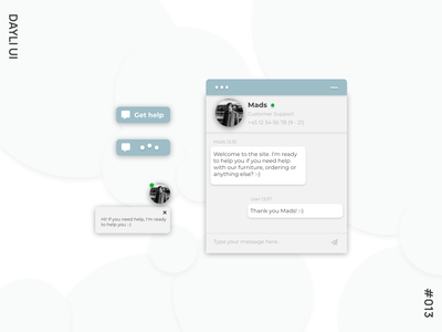 Dayli UI #013 - Direct Messages direct messaging direct message messages message 013 design dayli dayliui adobe xd ui dayli challenge 100