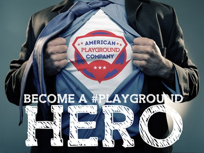 Playground Hero - Possible T-Shirt mockup for client