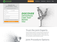 Orthopedic Website