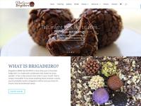 Nina Brigadeiro Website Redesign