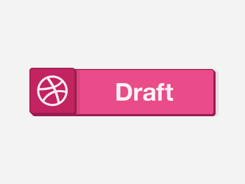 Dribbble Invite invite invitation draft dribbble prospect button ui