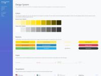 Design System Dashboard