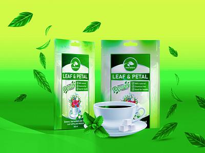 Label design for natural tea label product label design natural tea label label