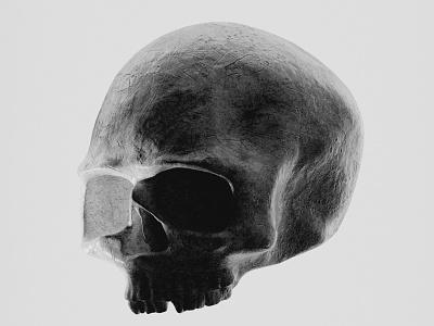 Spookmaster-9000 redshift c4d sculpt 3d skull