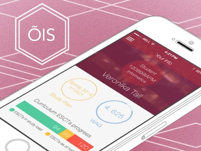 iOS App Concept for Student Info System