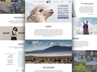 Alpaca Farm Website