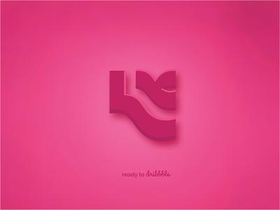 Hello Dribbble! icon typography branding logo design