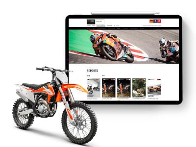 Pierer Mobility AG Website website branding husqvarna ktm motogp motorsport motorbike user interface design user interface webdesign development web design ui ux