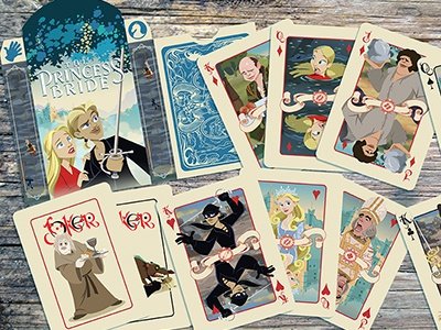 That's a wrap! Princess Bride Card deck.