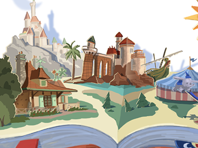 New Fantasyland product color comp