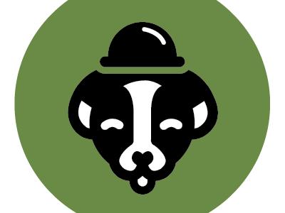 Scruff! dog logo illustration