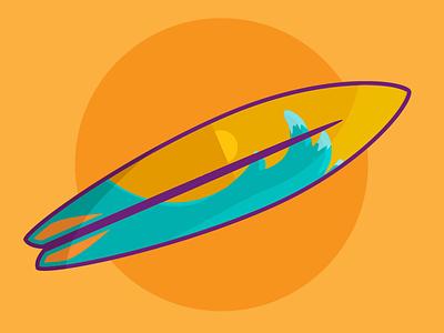 Surfboard! illustartion surfboard surfing surf