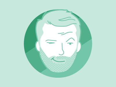 Damo logo character icon illustrator designer