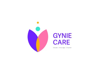 Gyniecare Logo web ui vector logo illustrator icon flat branding minimal design gynecologist