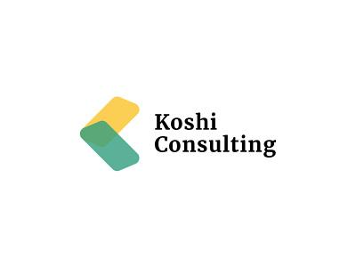Koshi Consulting Logo ui  ux uidesign ui design uiux website design web design webdesign logos ux ui app vector icon branding flat minimal logotype logo design logodesign logo