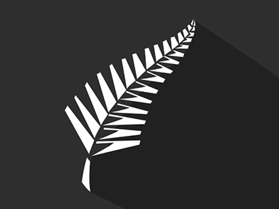 New Zealand National Symbol Minimalist