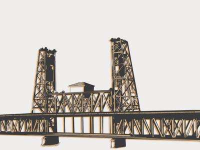 #TBT Steel Bridge