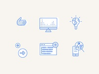 Watson Developer Dashboard Icons